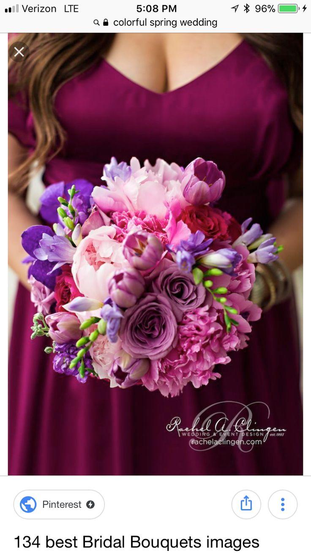 25 best Decor - Fresh Flowers images on Pinterest | Bridal bouquets ...