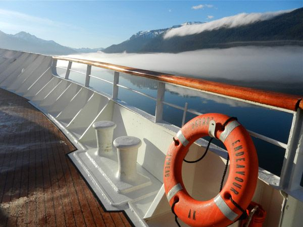 Gorgeous views of the Alaskan coast have made us reconsider life at sea #getaway #travel #alaska