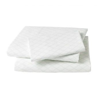 Dwell Studios Marquise Robin's Egg Sheet Set $180.00 #sweetcreations #baby #toddlers #kids #bedding
