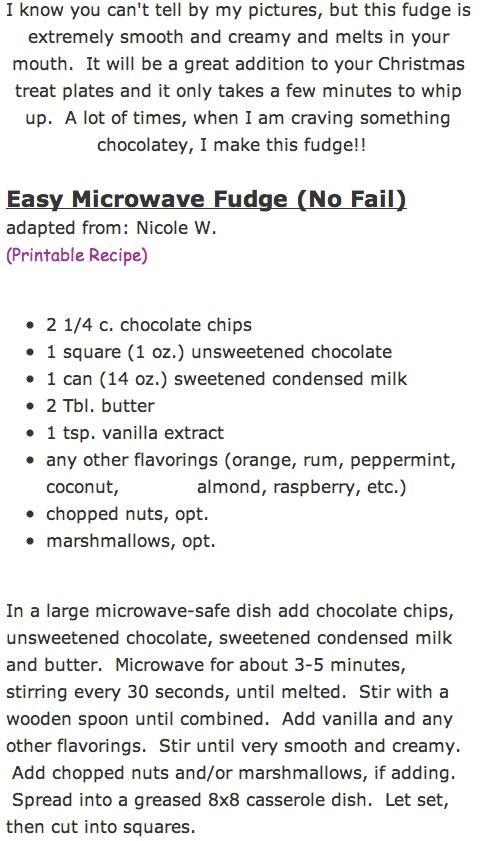 Easy Microwave Fudge (No Fail)