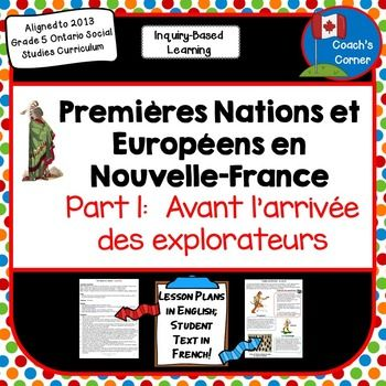 First Nations and Europeans in New France & Early Canada Part 1 - FRENCH Version