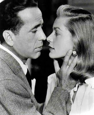 Classic Hollywood Couple. Bogie & Bacall