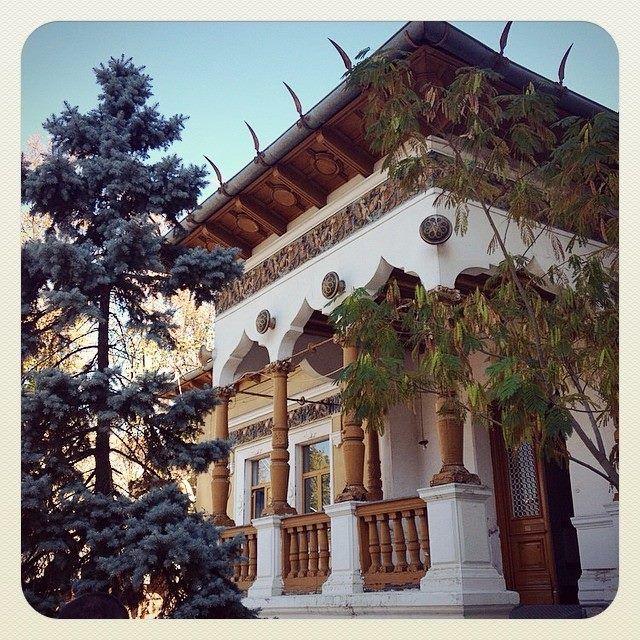 Casa Lahovary, arch. Ion #Mincu, 1886.  Gradina Icoanei, Bucuresti