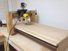 home made cnc router                                                                                                                                                                                 More