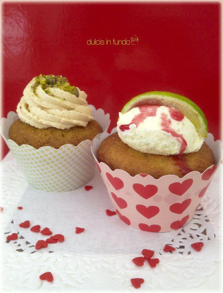 CLASSIC TASTE Cupcakes nocciola e pistacchio  fragola e limone by dulcis in fundo
