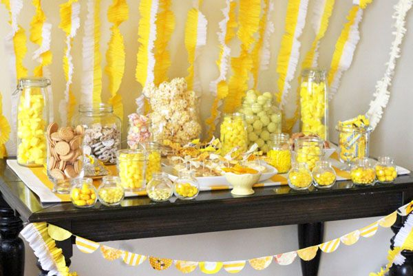 Maybe a little too much yellow, but there are some things I love about this table!