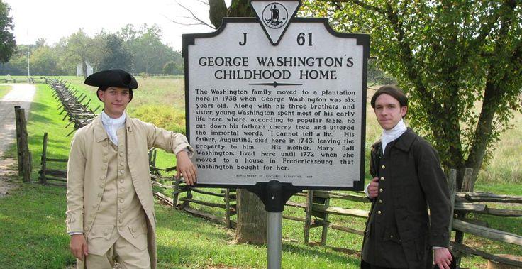 Ferry Farm - George Washington's Childhood Home | Visit www ...