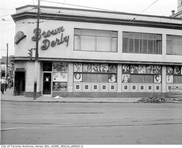 Yonge and Dundas--1960s  Northeast corner