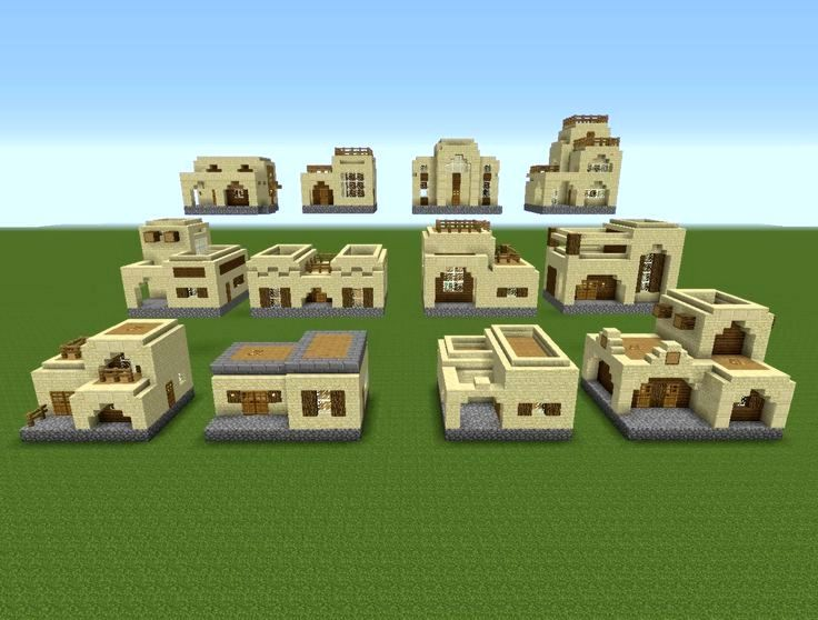 12 modèles de maisons X 2 styles architecturaux = 24 maisons uniques