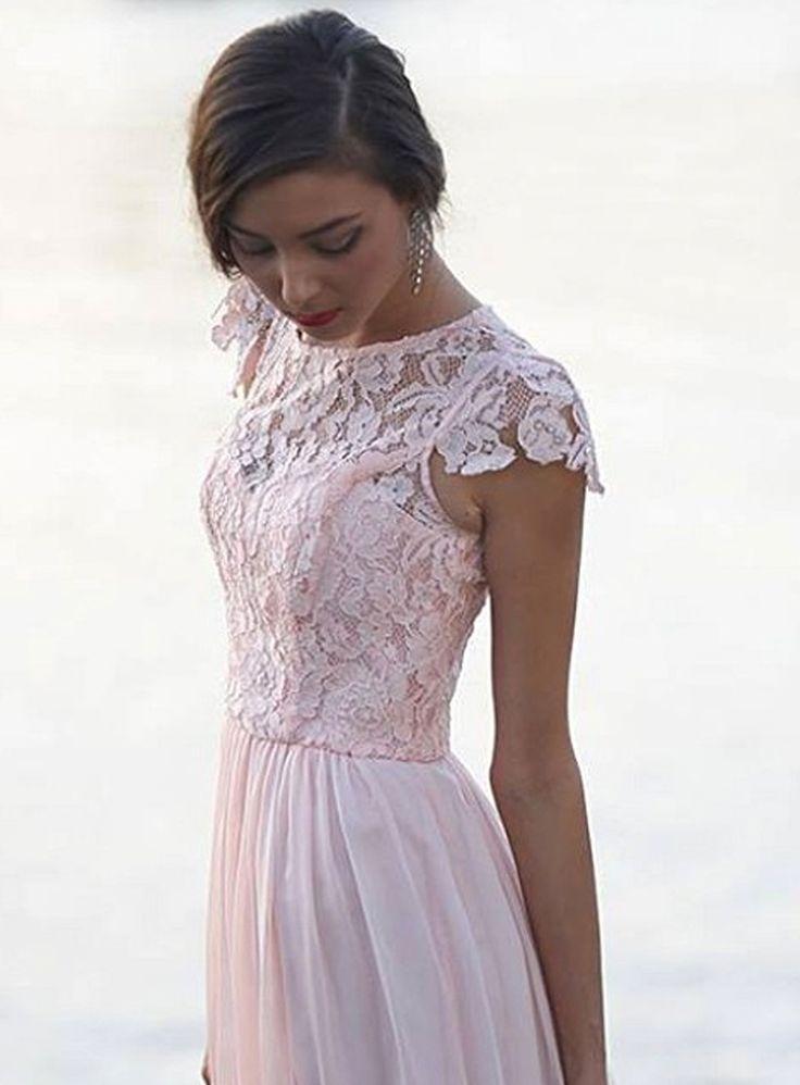 Lace & Silk Bridesmaid Dress