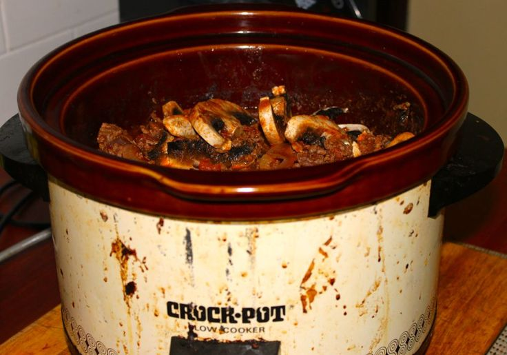 """""""Oh boy, that smells good! What's cooking?"""" said my son, passing through the kitchen.  """"Spaghetti Bolognese,"""" I said.  We've had spaghetti bolognese a thousand times before, but this time it's different. This time it's crockpot bolognese, following a recipe given here a few days ago by another bubbler."""
