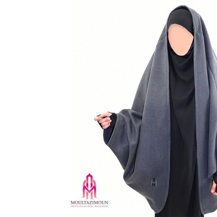 Jilbab Manteau -Al Moultazimoun / Khimar