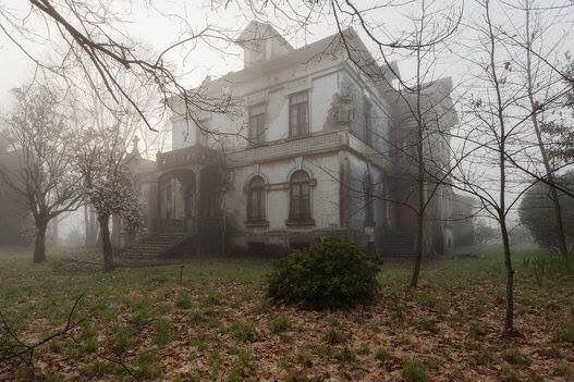 Mysterious and abandoned
