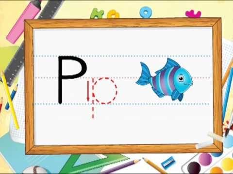 trazo de la letra P p