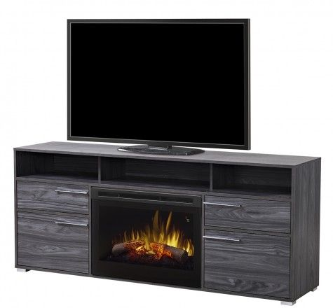 Dimplex - Electric Fireplaces » Media Consoles » Products » Sander Media Console