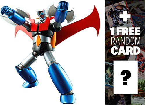 Mazinger Z Iron Cutter Edition Super Robot Chogokin x Mazinger Z  1 FREE Super Robot Anime Themed Trading Card Bundle >>> Click image to review more details.