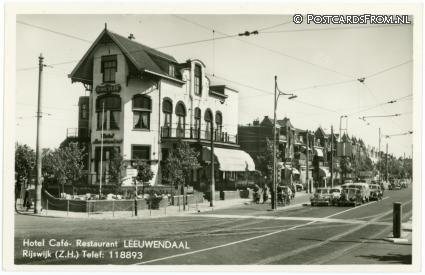 Rijswijk ZH, Hotel-Cafe-Rest. 'Leeuwendaal'