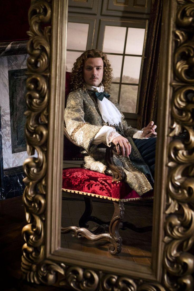 The incredible Evan Williams as the Chevalier de Lorraine in Versailles season 2