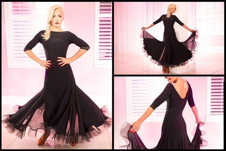 Tania Pandora Dress Black