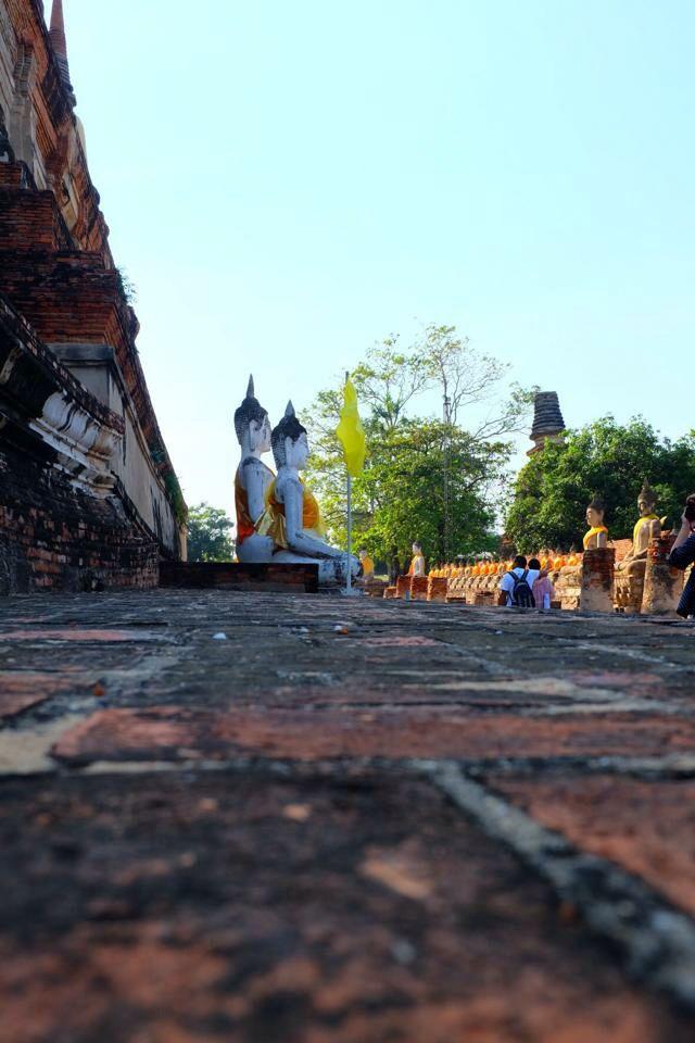 Wat Yai Chaimongkol ,ayutthaya,Thailand