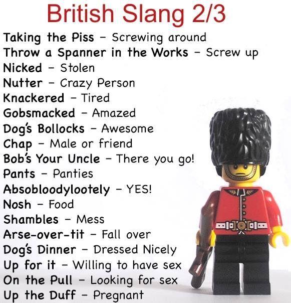 British Slang 2/3