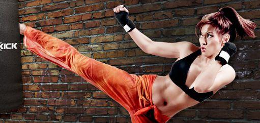 |        Fitness muay thai pro ženy a dívky.