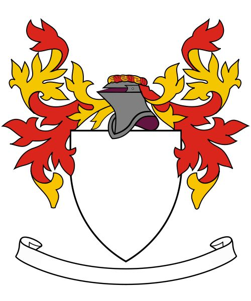 Best Familiewapen Images On   Crests Coat Of Arms
