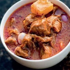 Smooth and delicious beef and potato curry with peanuts. Easy to cook and does not take much time to prepare.