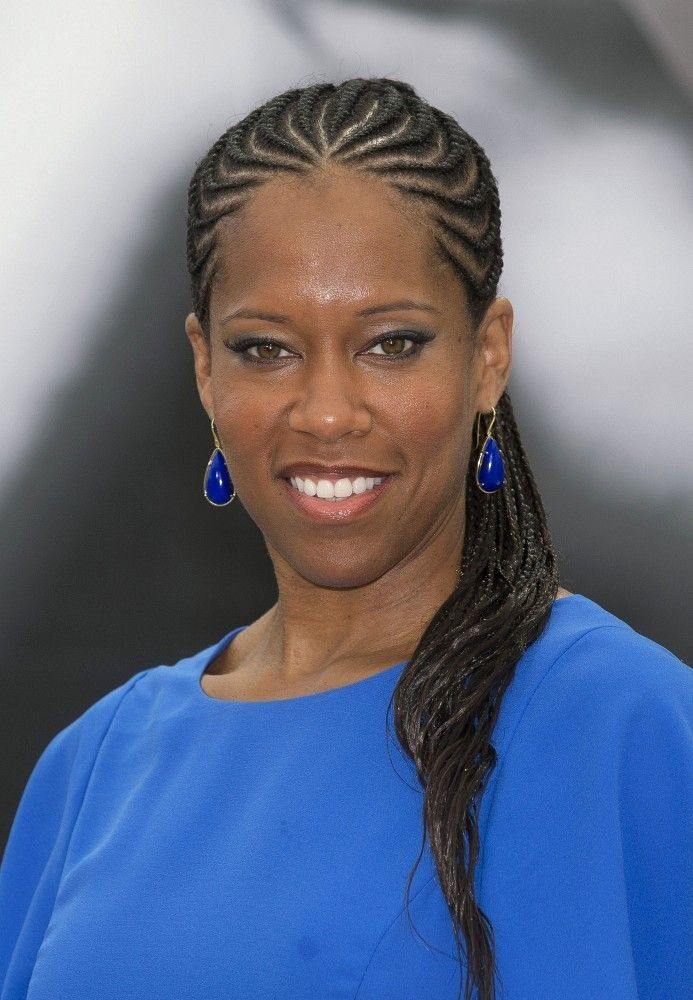Regina King Long Cornrows