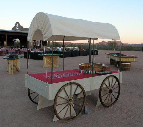 Wild west casino buffet