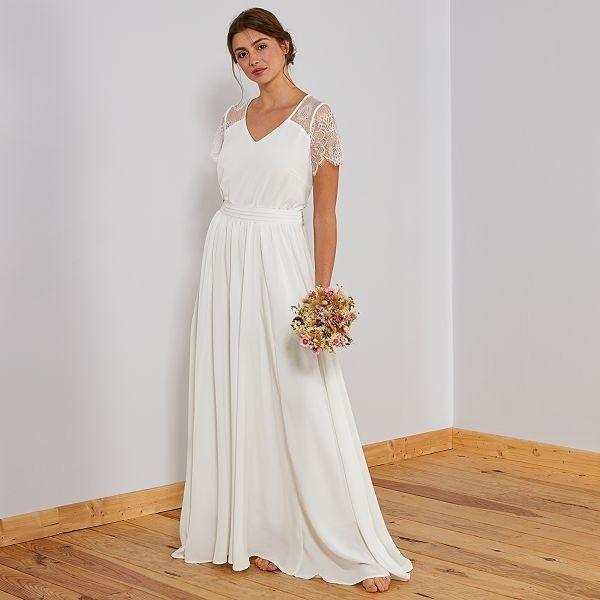 Mode et Beauté : la robe de mariée Kiabi