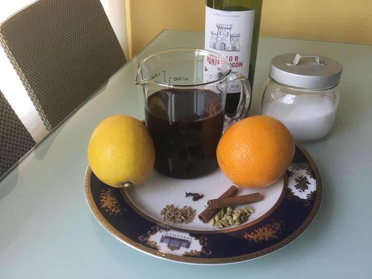 Glühwein o vino especiado