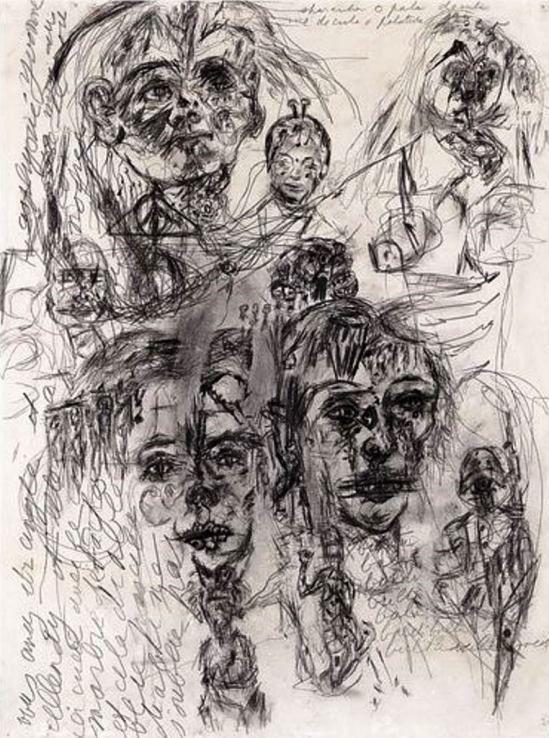 Antonin Artaud. Sans Titre, non daté