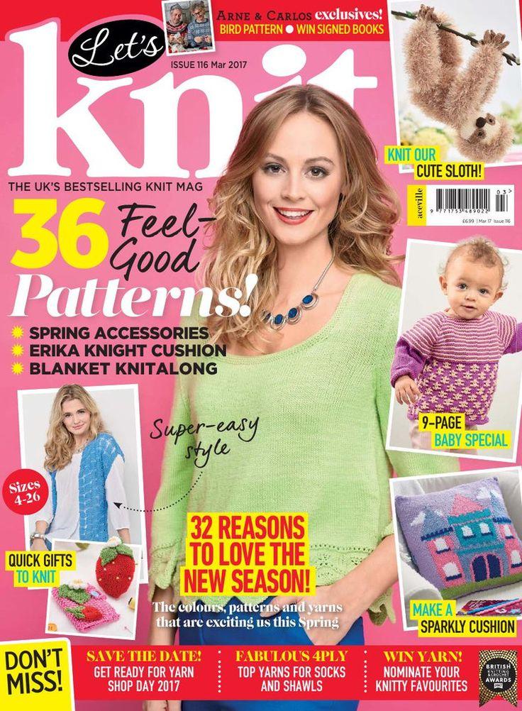 Let's Knit March 2017 - 轻描淡写 - 轻描淡写