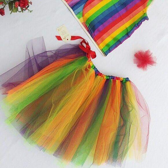 Para o carnaval, super colorida e alegre nossa fantasia.