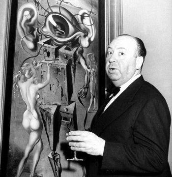 Alfred Hitchcock by Herbert Gehr, 1945