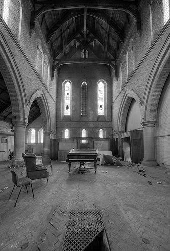 Abandoned Church   Abandoned Church by howzey