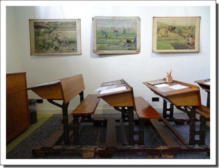 Het klaslokaal.