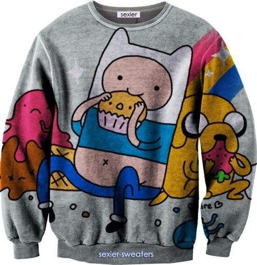 Adventure Time jumper. que tengo que hacer par tener una de estas D: