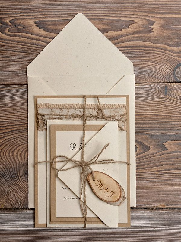 wedding invitations from michaels crafts%0A TOP    Chic Rustic Wedding Invitations from  lovepolkadots