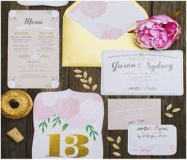 Invites - flower/garden