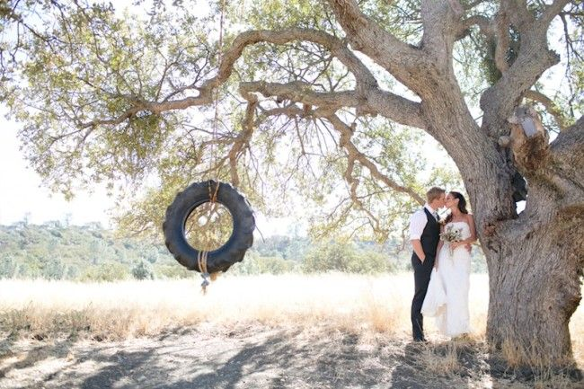 Casual Country Wedding: Anna and Chris
