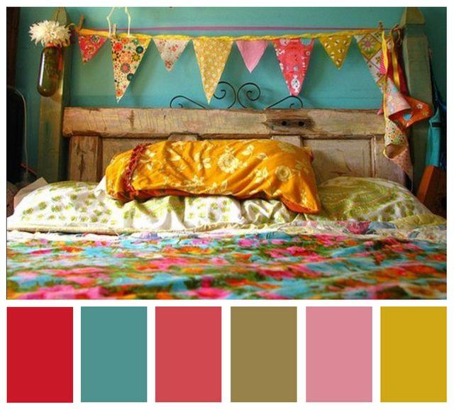 .: Doors Headboards, Wall Colors, Idea, Flags, Fleas Marketing, Bedrooms, Old Doors, Girls Rooms, Banners