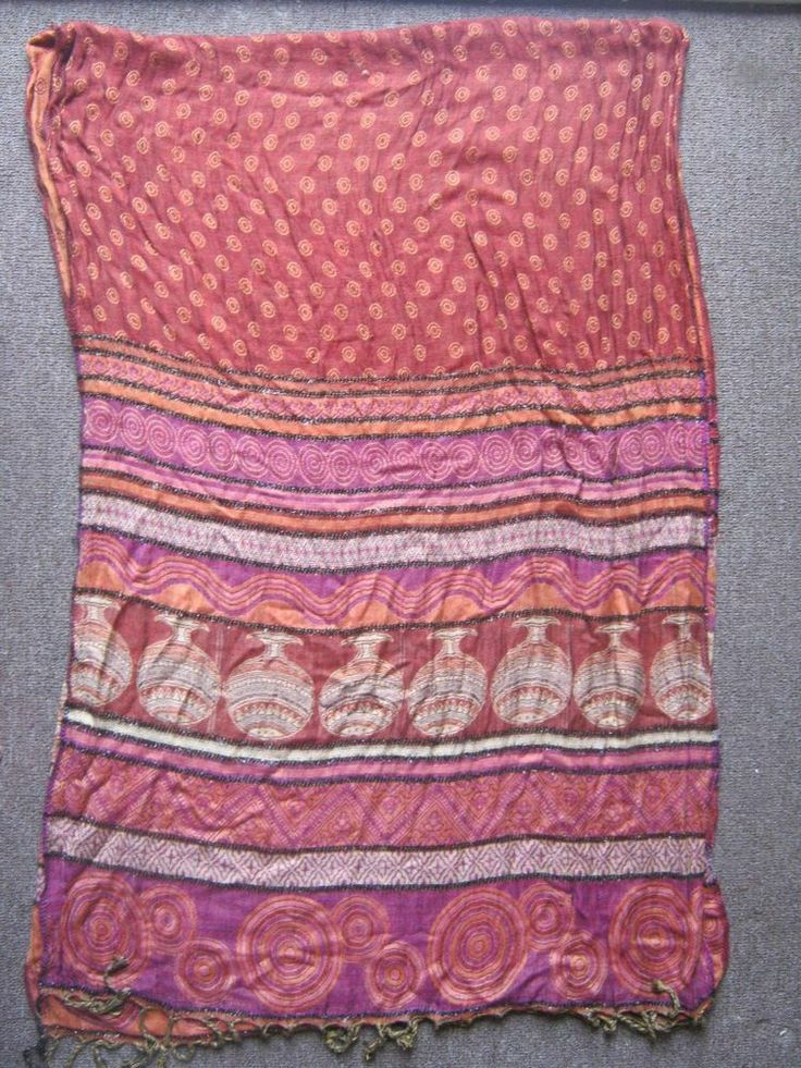 Exclusive and rare woollen shawl from Baluchistan