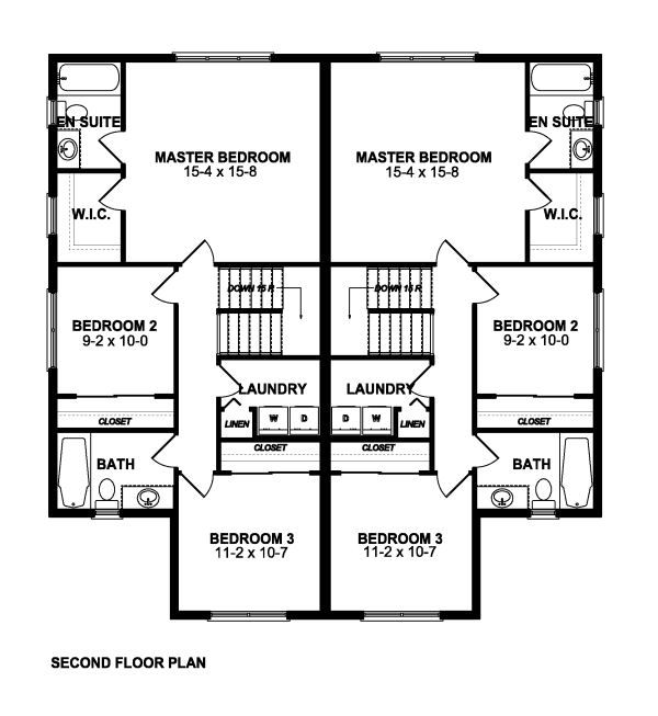 19 best condos townhomes images on pinterest floor plans for Multi family condo plans