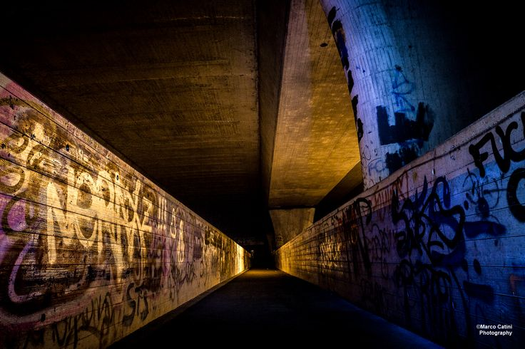 Under The Autobahn Bridge. Dietikon, Switzerland.