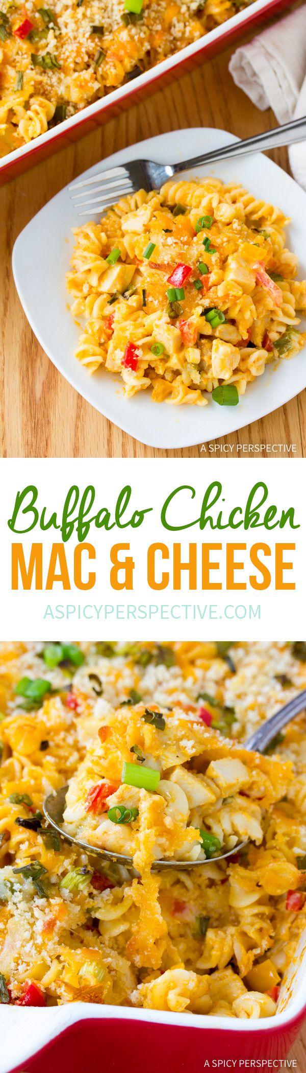 Amazing Buffalo Chicken Mac And Cheese Recipe Winner