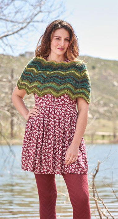 Free Tunisian Crochet Poncho Patterns : Shawl, Tunisian crochet patterns and Yarns on Pinterest