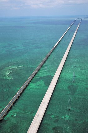The Seven Mile Bridge, Florida Keys my favorite place!