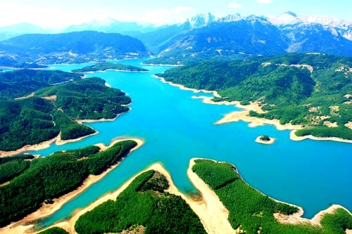 Lake Plastiras, Greece